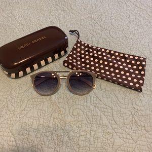 Hendri Bendel gray sunglasses